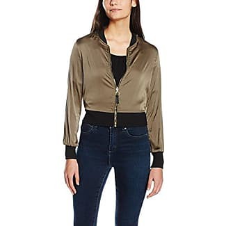 Tally Weijl Sjacosafter, Chaqueta para Mujer, Verde (Military Olive VS), 36