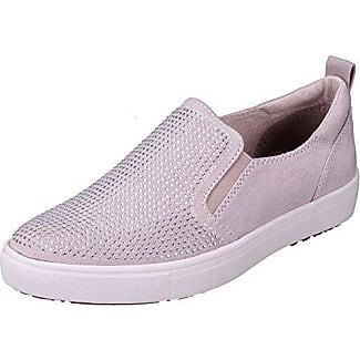 Tamaris Damen Slipper Silber/Rosé, Schuhgröße:EUR 40