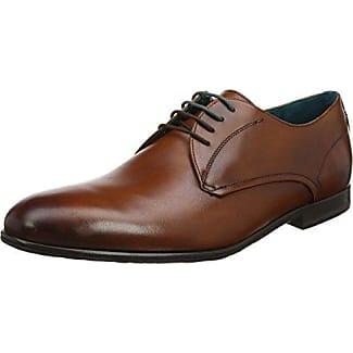 Ted Baker Prycce, Zapatos de Cordones Oxford para Hombre, Gris (Grey), 41 EU
