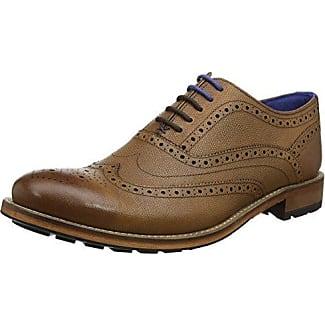 Ted Baker Guri 9, Zapatos de Cordones Oxford para Hombre, Negro (Black), 42 EU