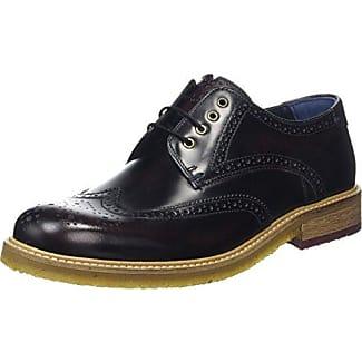 Prycce, Zapatos de Cordones Oxford para Hombre, Azul (Dark Blue), 45 EU Ted Baker