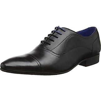 Ted Baker Umbber, Zapatos de Cordones Oxford para Hombre, Negro (Black), 44 EU