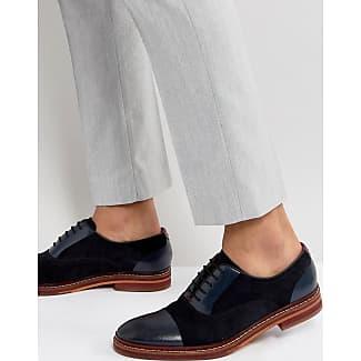 Zapatos Oxford de ante en azul marino Delanis de Ted Baker