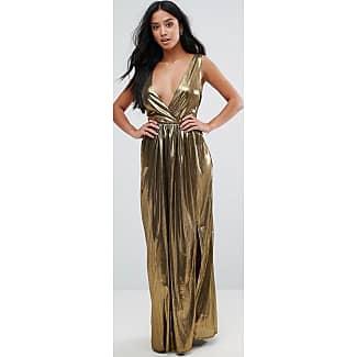 Tfnc maxi dress in pleated chiffon dresses