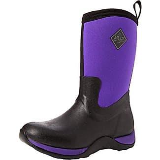 s Hale - Botas para Mujer, Negro (Black/Purple), 41.5 EU The Original Muck Boot Company
