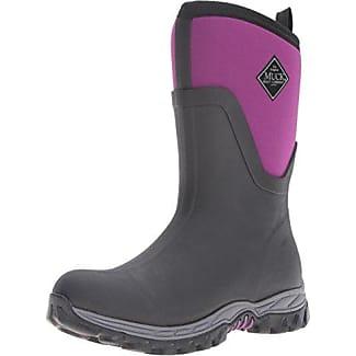 Muck Boots Damen Arctic Sport Ii Mid Gummistiefel, Pink (Black/Pink), 36 EU