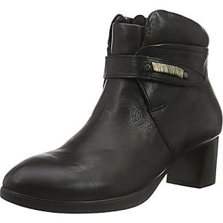 Think Mea - botas de caña baja con forro cálido y botines Mujer , color azul, talla 37,5
