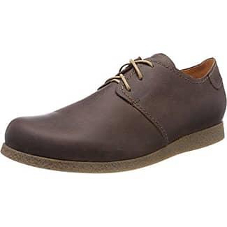 Think Zagg_282601, Zapatos de Cordones Brogue para Hombre, Marrón (Rum/Kombi 54), 42.5 EU