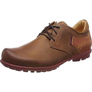 Think Kong_282653, Zapatos de Cordones Brogue para Hombre, Beige (Macchiato 24), 42 EU