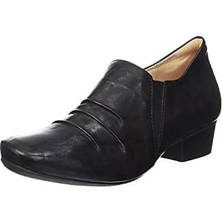 Renna, Zapatos de Cordones Derby para Mujer, Negro (Schwarz 00), 38 EU Think
