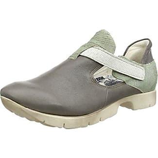 Think Chilli Halbschuh - Zapatos con Cordones de Cuero Mujer, Color Multicolor, Talla 38