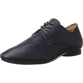 Think Guad - Zapatos Derby Mujer , color Negro, talla 36.5 EU