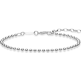Thomas Sabo personalised bracelet silver-coloured D_LBA0004-356-21-L19v Thomas Sabo