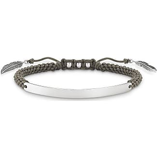 Thomas Sabo personalised bracelet grey LS019-848-5-L20v Thomas Sabo
