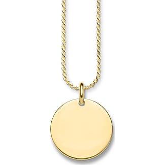 Thomas Sabo necklace yellow gold-coloured SET0376-414-39-L45 Thomas Sabo