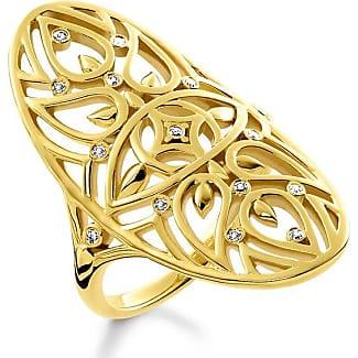 Thomas Sabo ring yellow gold-coloured TR2183-414-39-48 Thomas Sabo