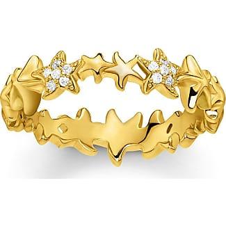 Thomas Sabo ring yellow gold-coloured D_TR0024-924-39-48 Thomas Sabo