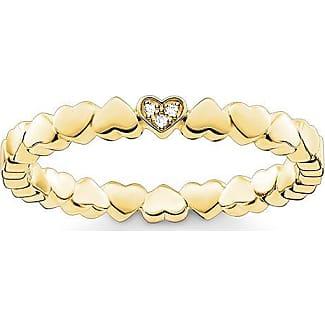 Thomas Sabo ring yellow gold-coloured TR2127-413-39-48 Thomas Sabo
