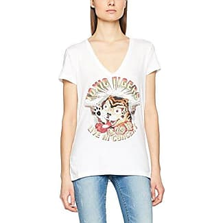 Tigha Effi, Camiseta para Mujer, Rojo (Red Plum Melange 322), S