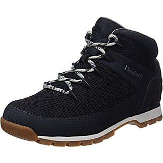 Timberland Eurosprint, Sneakers Hautes garçon, Noir (Black), 34 EU