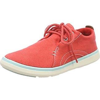 Timberland ARC Dome Mesh Logo, Zapatos de Cordones Oxford Unisex Niños, Rojo (Hibiscus 670), 31 EU