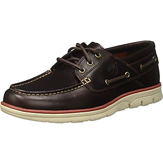 Timberland Bradstreet 3 Eyebrown, Chaussures Bateau Homme, (Brown Pull Up), 42 EU