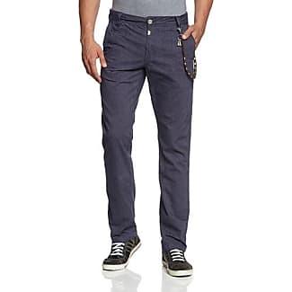 Regular Ricardo, Pantalones para Hombre, Blau (Night Blue 3035), W32/L32 Timezone