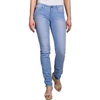 Timezone NeelaTZ Fashion Pants - Pantalones para Mujer, Color Grau (Cold Dye Anthra 9036), Talla W30/L32 (30)