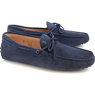 Driver Loafer Shoes for Men On Sale, Dark Blue, suede, 2017, 10 5 6 6.5 7 7.5 8 8.5 9 9.5 Tod's