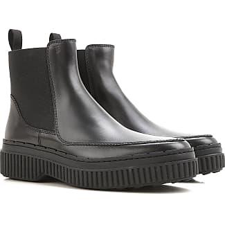 Zapatos de Mujer Baratos en Rebajas, Negro, Piel, 2017, 39 Tod's