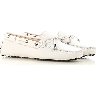 Loafers for Women On Sale, Platinum, Leather, 2017, 2.5 3.5 4 4.5 5.5 6 7.5 Tod's