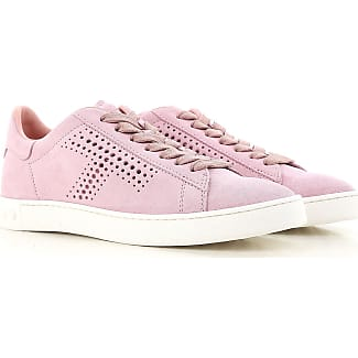 Sneakers for Women On Sale, Candy Rose, Suede leather, 2017, 3 3.5 4 5.5 7.5 8.5 Tod's