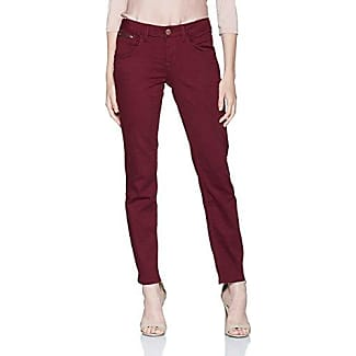 Coloured Slim Carrie, Pantalon Femme, Violet (Preppy Plum 4268), W33/L30 (Taille Fabricant: 33)Tom Tailor