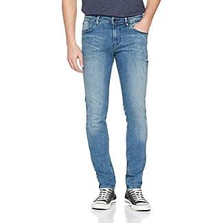 Piers Super Slim, Pantalones Vaqueros Delgados para Hombre, Negro (Black Stone Wash Denim 1057), W34/L34 (Talla del fabricante: 34) Tom Tailor Denim