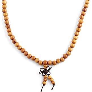 Dark Wooden Beaded Necklace Trendhim