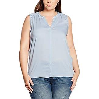 Triangle by s.Oliver 18709319015, Camisa para Mujer, Azul (Denim Blue 5865), 48
