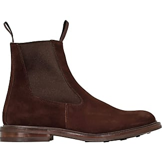 Boots for Men, Booties On Sale, Tortoise, suede, 2017, 6.5 Trickers