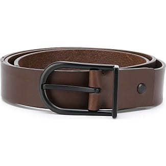 slim belt - Brown Troubadour Taschen