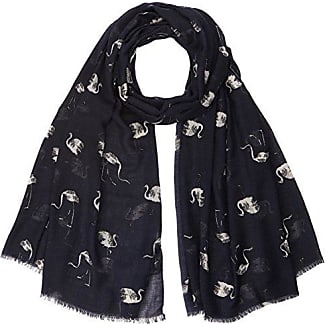 Womens Estampado Avestruces Neckerchief, Blue (Dark Blue), One Size Trucco
