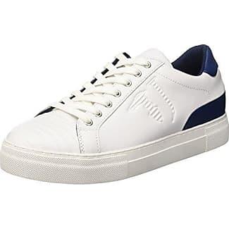 79A00015-9Y099999, Sneaker a Collo Basso Donna, Nero, 40 EU Trussardi
