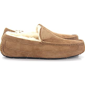ugg bedroom slippers. UGG House Slippers ASCOT suede beige lamb fur  Sale up to 45 Stylight