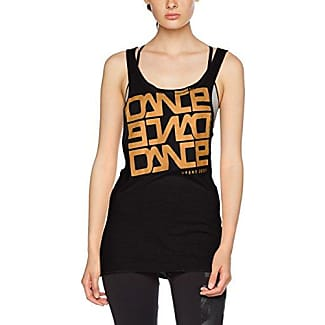 Minkpink Golden Girl, Camiseta para Mujer, Negro (Black Black), 42(Tamaño Fabricante: Large)