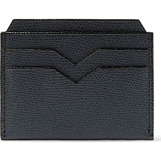 Valextra business card holders sale at usd 25500 stylight valextra pebble grain leather cardholder navy colourmoves Images