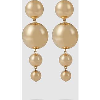 Vanda Jacintho Four Sphere Earrings