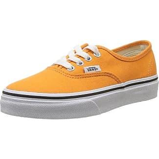 Authentic Slim, Sneakers Basses Mixte Adulte, Orange (Chambray/Coral/TRUE White), 35 EU (3 UK)Vans