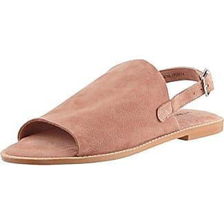 VERO MODA Damen Vmlia Leather Mule Slipper, Rot (Cayenne), 38 EU