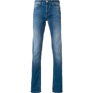 stonewashed slim fit jeans - Blue Versace Jeans Couture
