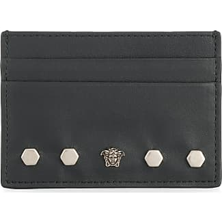 Versace business card holders sale up to 51 stylight versace medusa cardholder black colourmoves Images