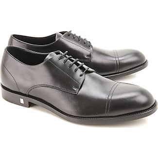 Lace Up Shoes for Men Oxfords, Derbies and Brogues On Sale, Black, Leather, 2017, 9.5 Versace