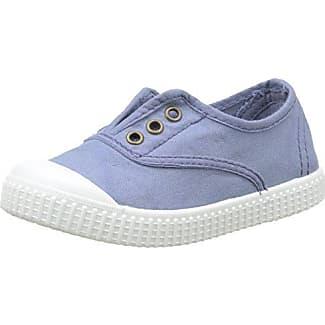 Victoria Basket Lona Dos Velcros - Zapatillas Unisex Niños, Azul (Bleu (30 Marino)), 26 EU